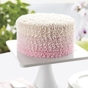 Sweetly Pink Star Cake