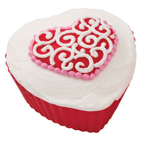 Hearts' Desire Scroll Cupcakes
