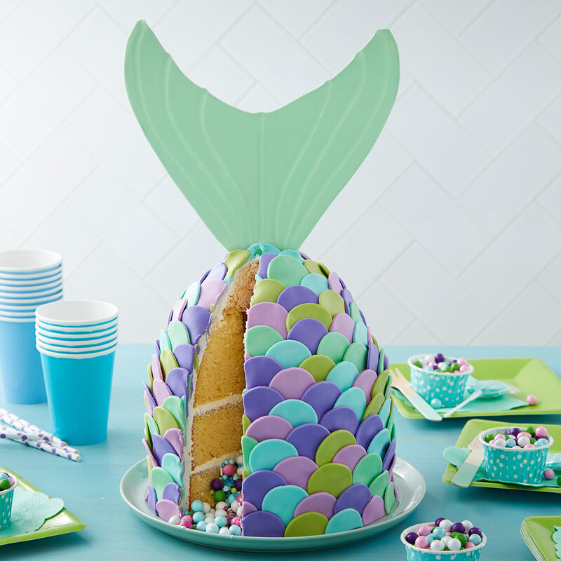 Mer-mazing Pastel Mermaid Cake image number 0