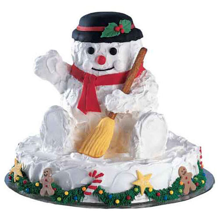 Thumbs Up For Frosty! Cake