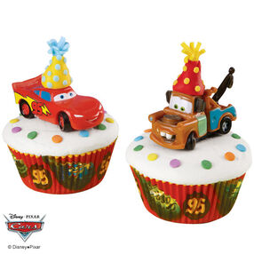 Cars Speedy Treats Cupcakes