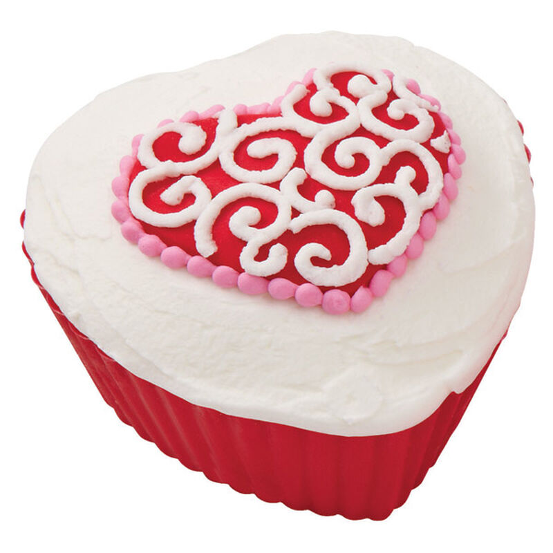 Hearts' Desire Scroll Cupcakes image number 0