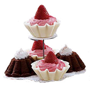 Strawberry Mousse in Candy Shell