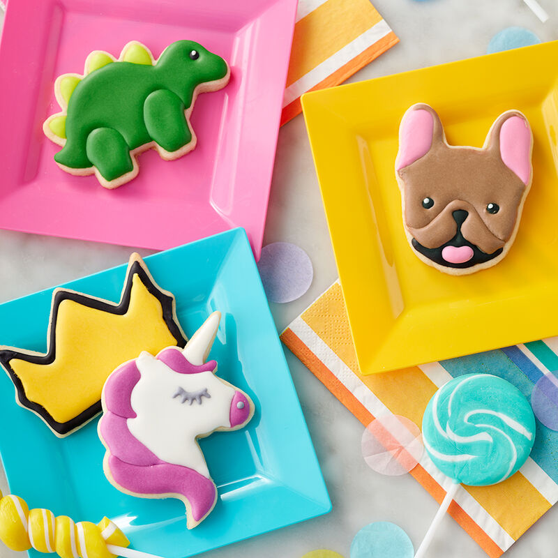Rosanna Pansino A Walk on the Wild Side Animal Cookies image number 0
