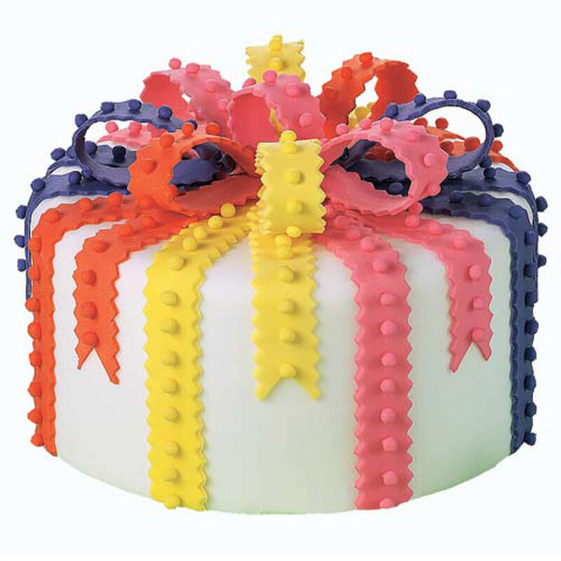 Bright With White Cake image number 0