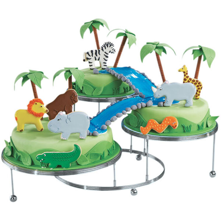 Animals of the Jungle Cake