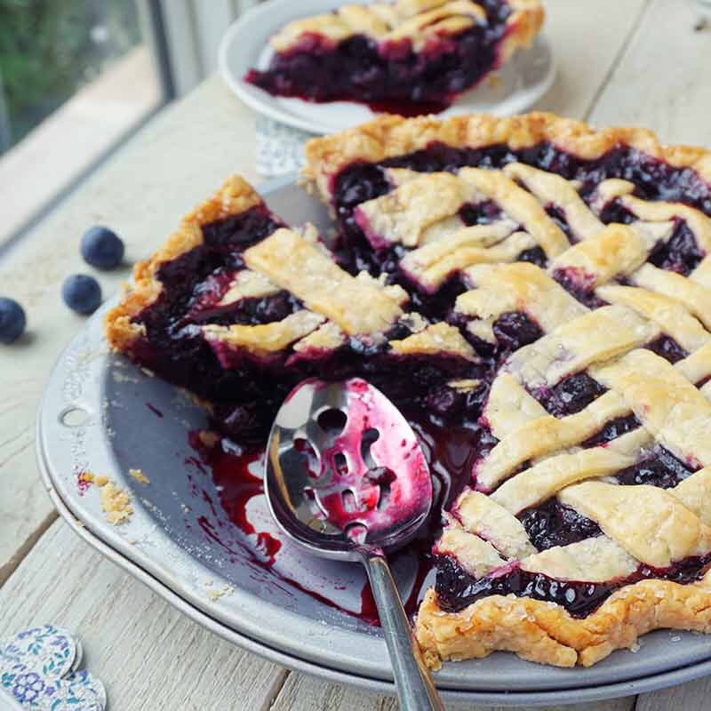 blueberry pie image number 2