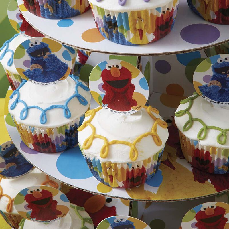 Simple & Fun Sesame Street Cupcakes image number 1