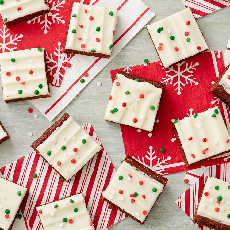 Gingerbread Bars with Cream Cheese Icing Recipe