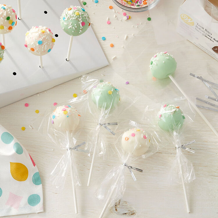 Easy Cake Pop Party Favors