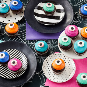 Mini Eyeball Cupcakes