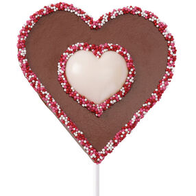 Hearts in Hand Chocolate Pops