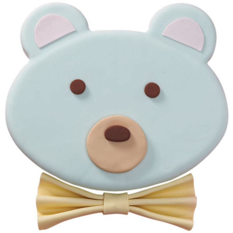 Baby Blue Teddy Bear Cake image number 0