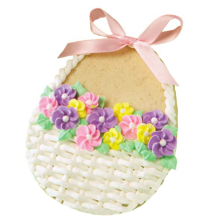 Flowers in a Basket Cookies