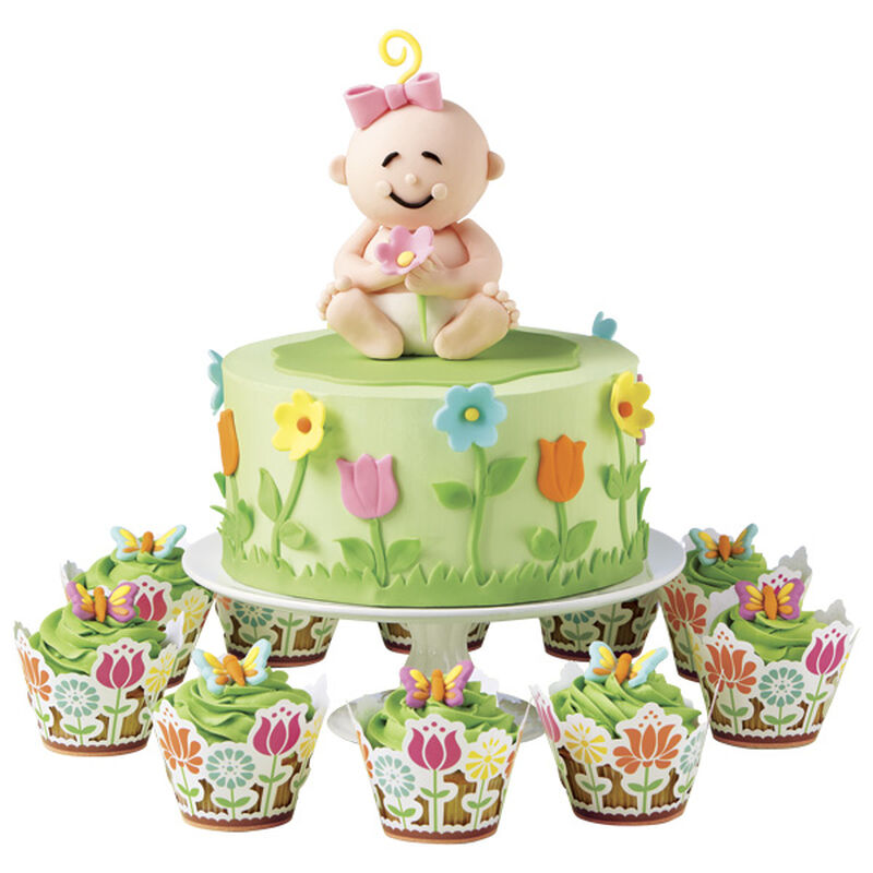 Our Garden Girl Cake image number 0