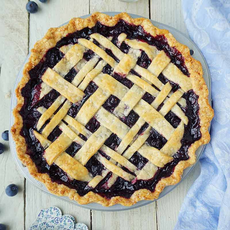 blueberry pie image number 0