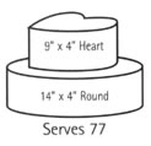 Wilton Serving Guide All Size Cake Options