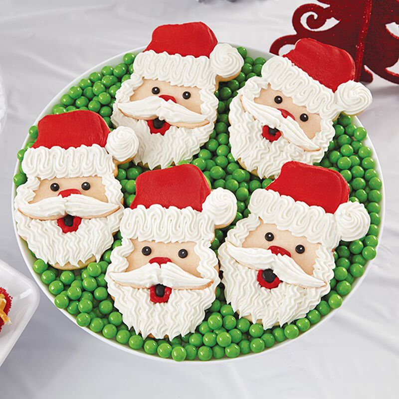 Santa Face Christmas Cookies image number 0