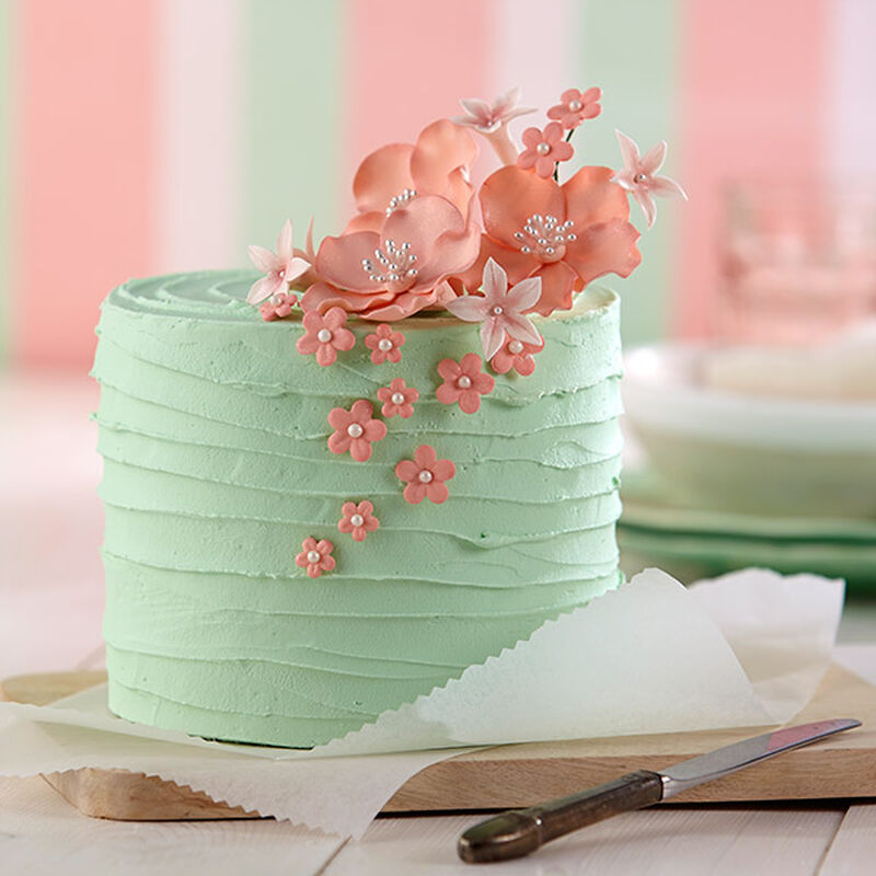 Pink Blossom Bouquet Cake image number 0