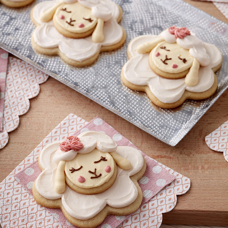 Easter Little Lamb Cookies