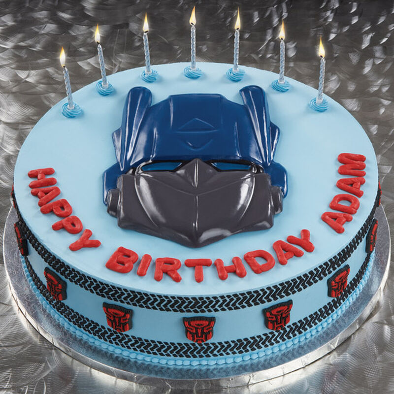 Tracking the Transformers Cake image number 0