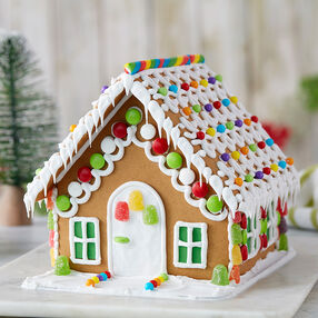 Season's Greetings Gingerbread Cottage #1