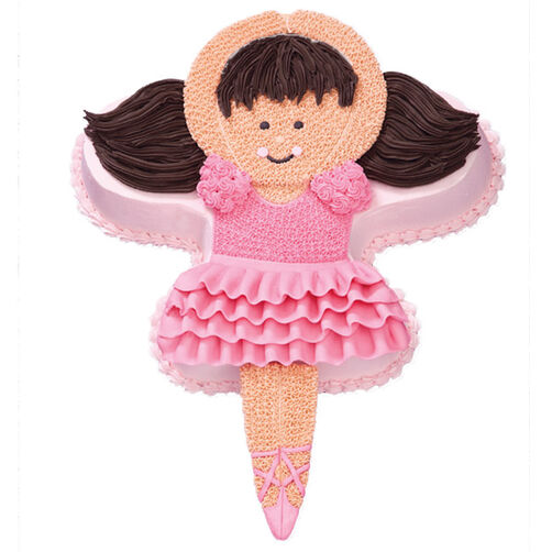 online store bbe2c f4d50 Pink Pirouettes Ballerina Cake for Her