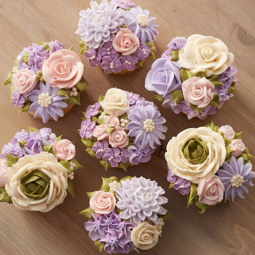 Floral Fantasy Mother's Day Cupcakes