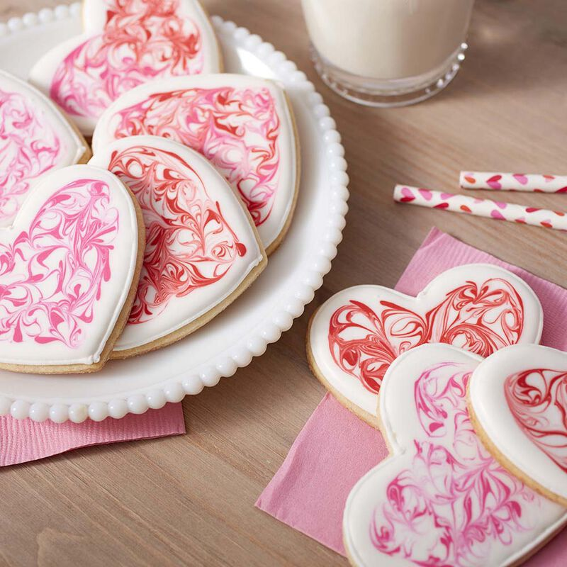 Valentine's Day Heart Sugar Cookies image number 1