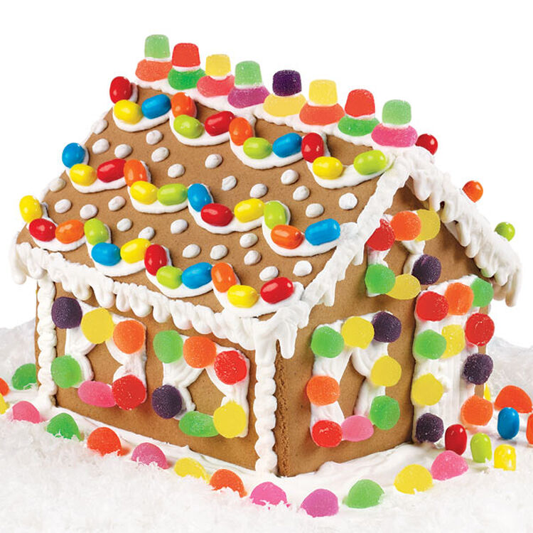 Candy Retreat Gingerbread House