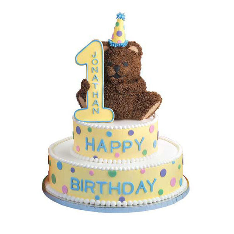 One-derful Time Cake image number 0