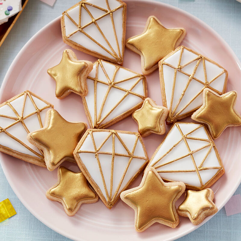 Sparkling Stars and Diamond Cookies image number 0