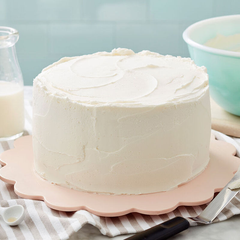 Simple Buttercream Frosted Cake image number 0