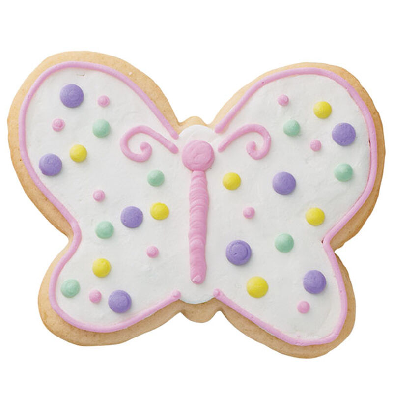 Dots in Flight Butterfly Cookies image number 0