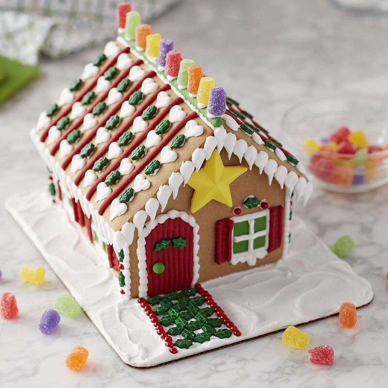 Star of the Holidays Gingerbread House #1 image number 1