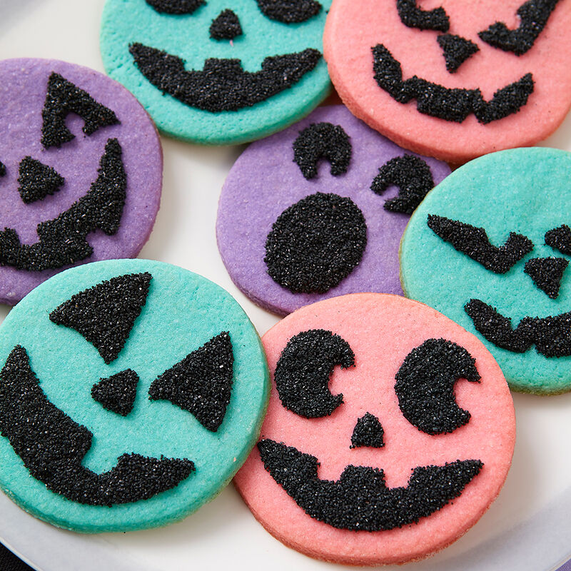Spooky Face Cookies image number 1