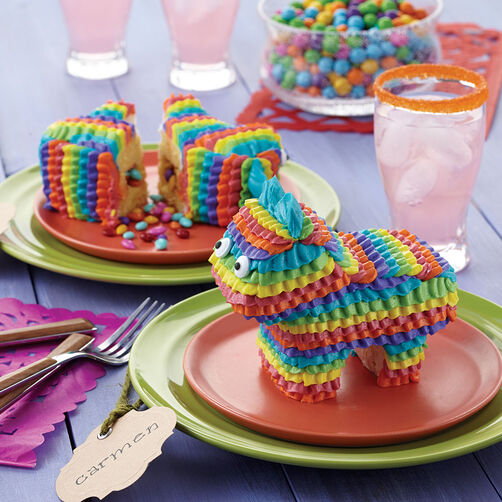 Mini Pony Pinata Cakes