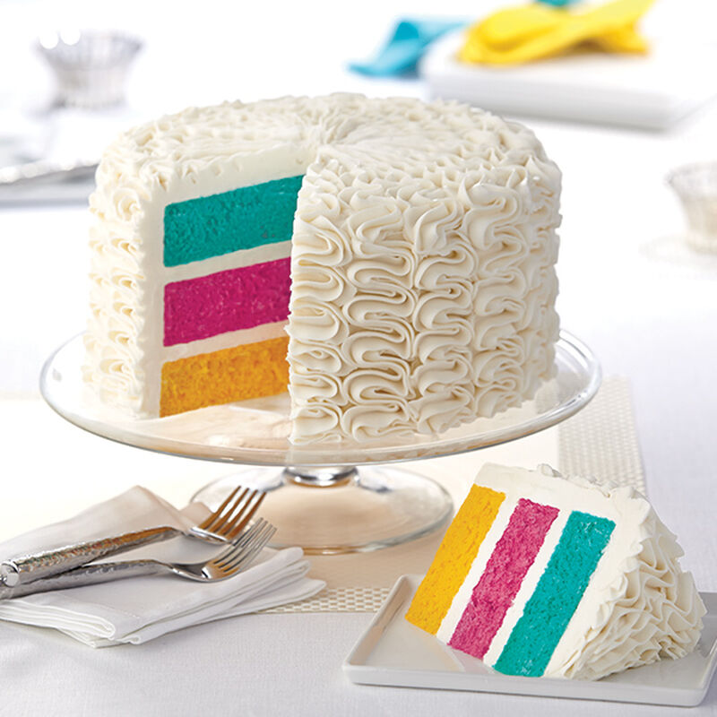 Zigzags Over The Rainbow Cake image number 0