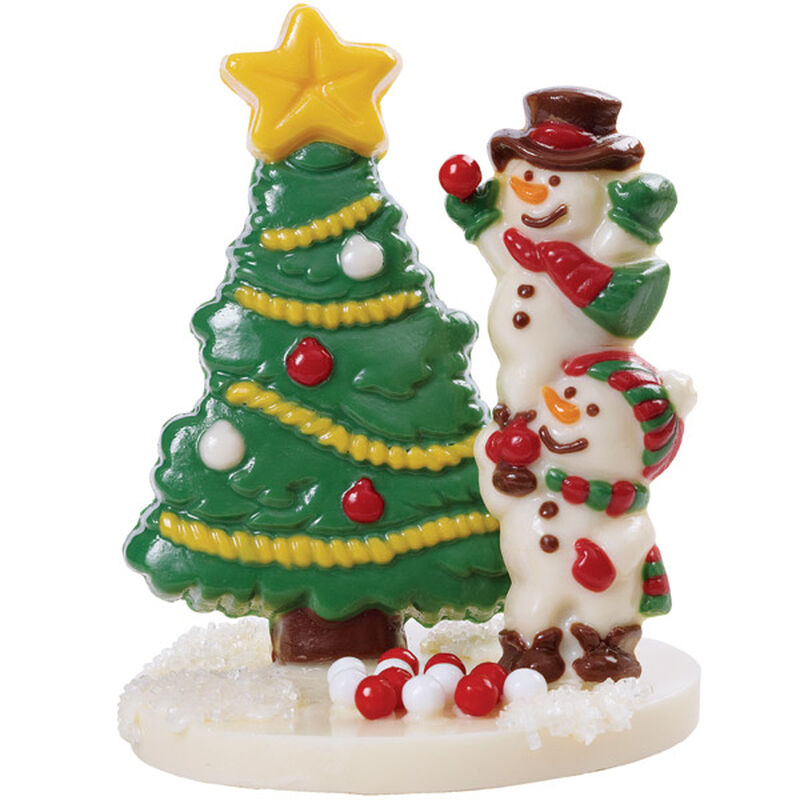 Candy Tree and Frolicking Snowmen image number 0