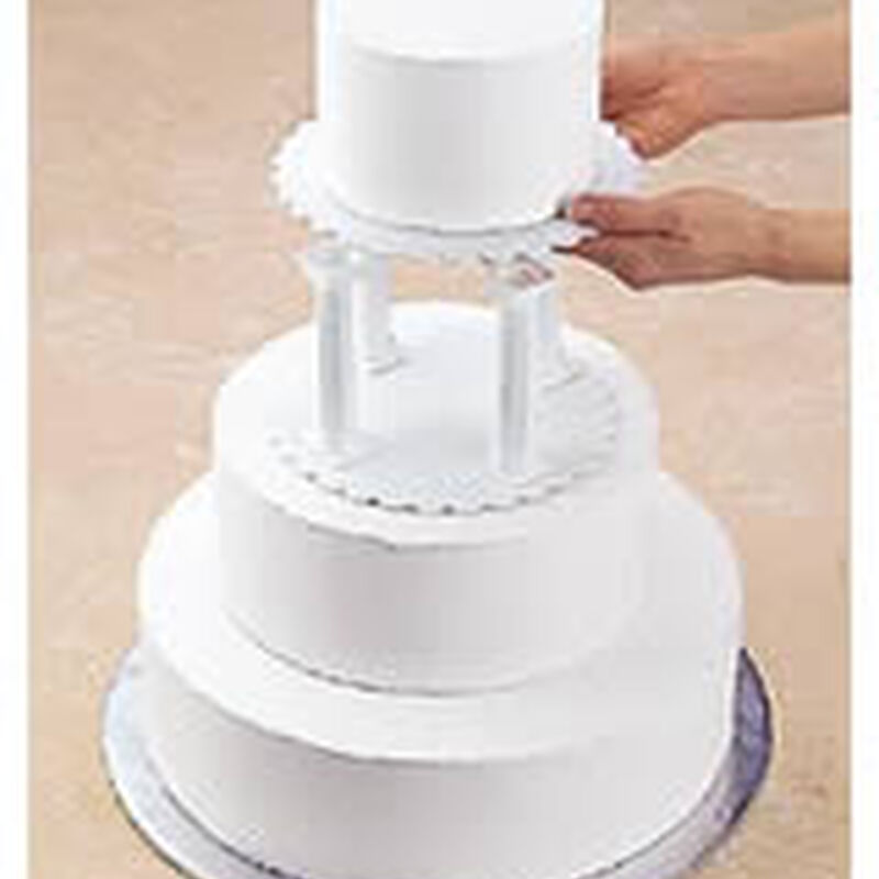 Pillar and Stacked Cake Construction image number 0