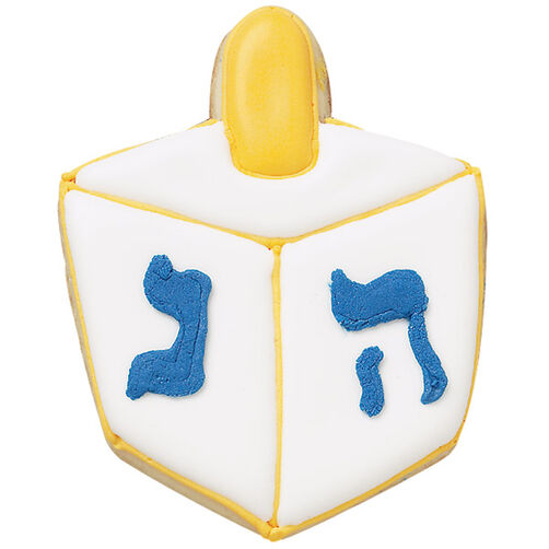 Dreidel Days Cookies