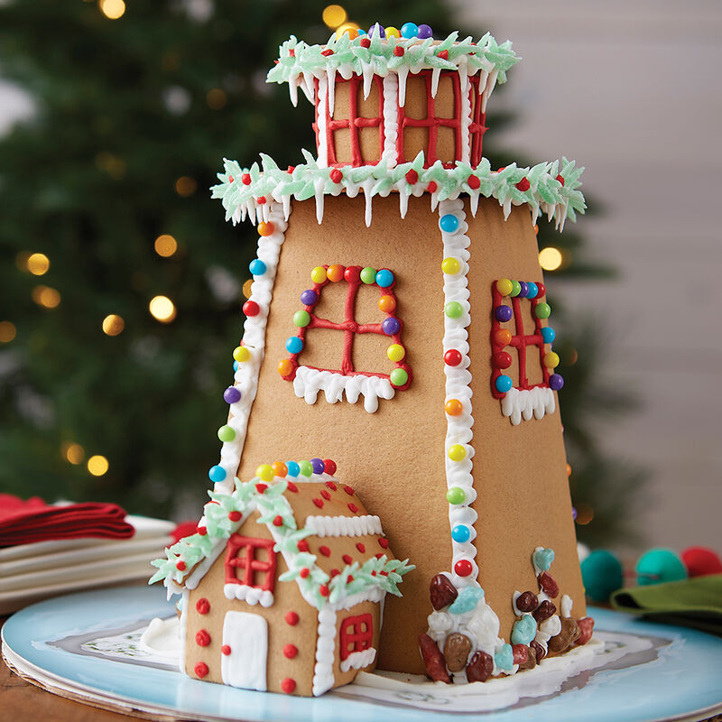 Light the Way Gingerbread Lighthouse #2 image number 0