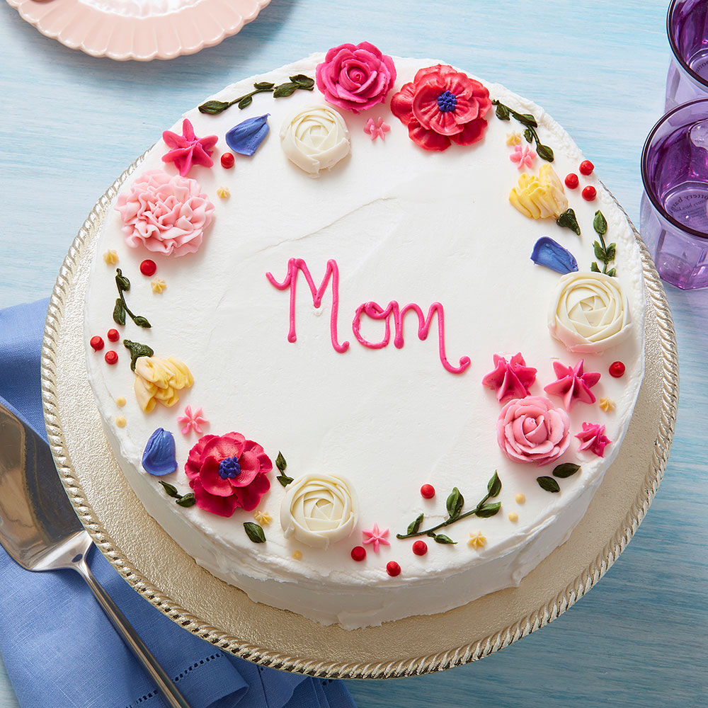 Circle Of Love Mother S Day Cake Wilton