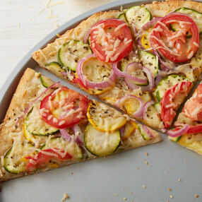 Zesty Vegetable Pizza Recipe