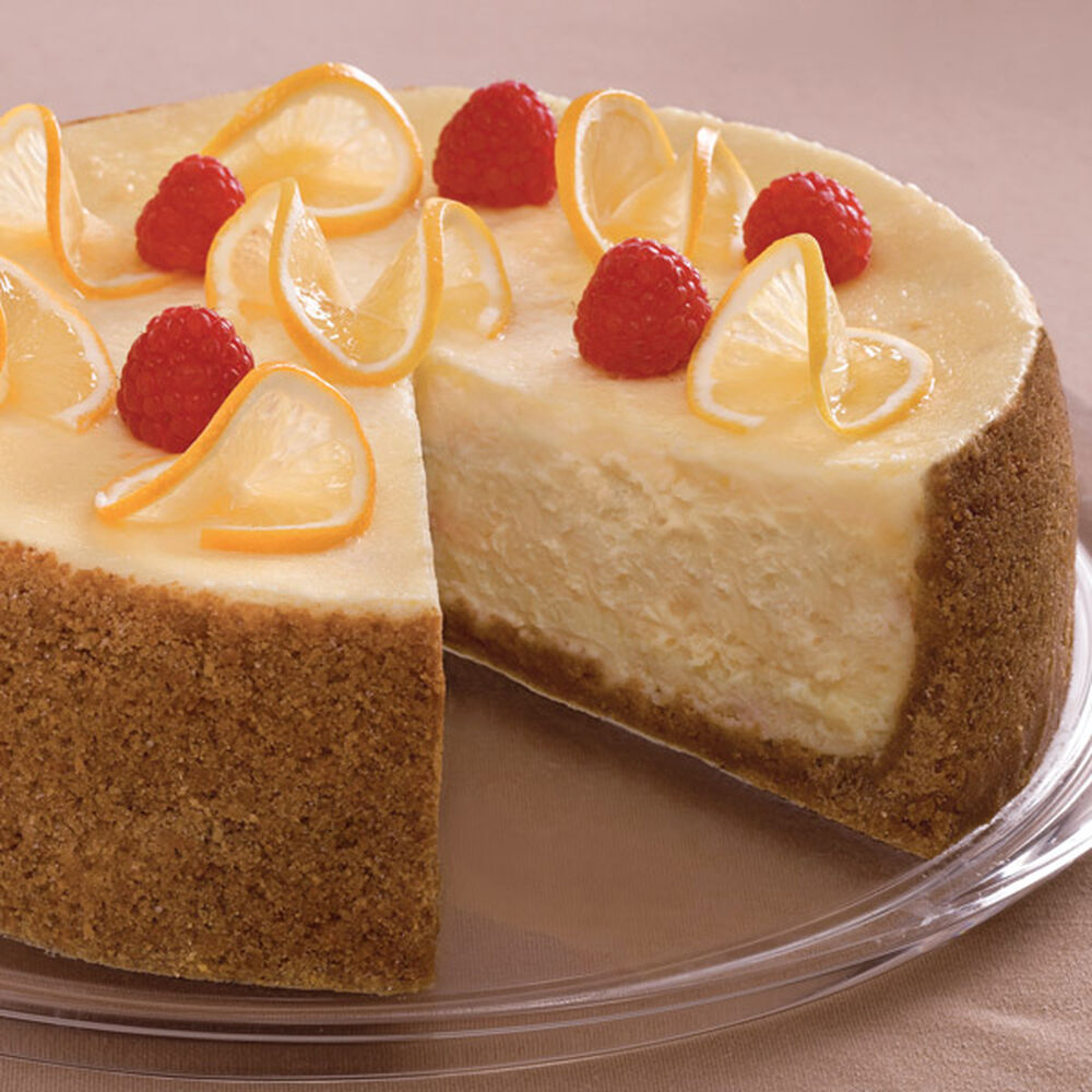 Lemon Cheesecake With Fresh Raspberries Recipe Wilton