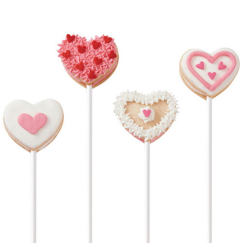 Hearts Afire Cookie Pops