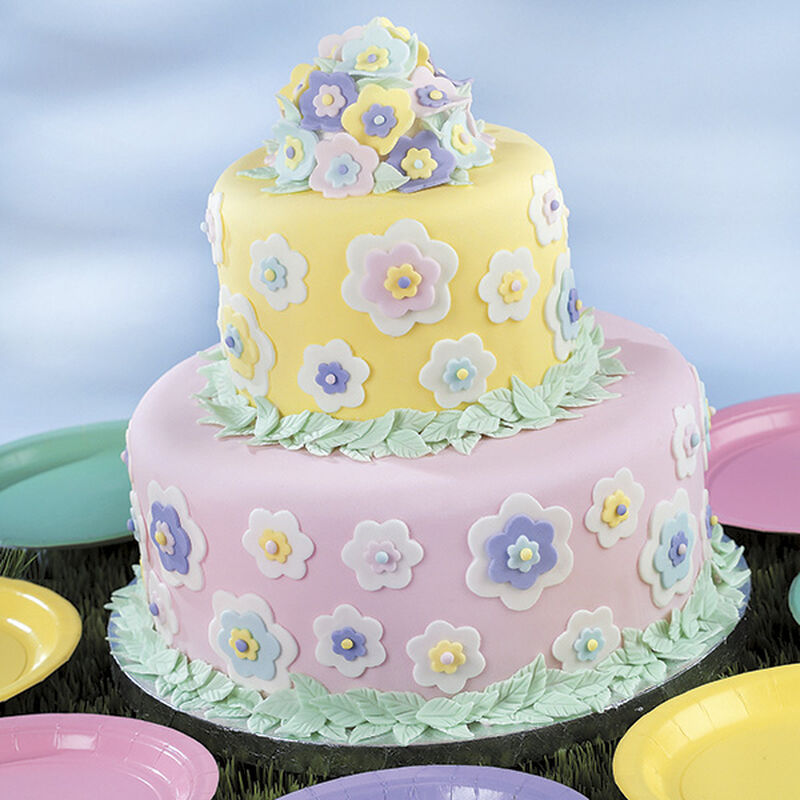 Floral Dimensions Cake image number 0