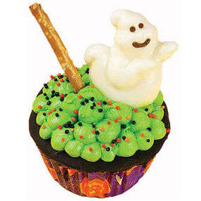 Boilin' Cauldron Cupcakes