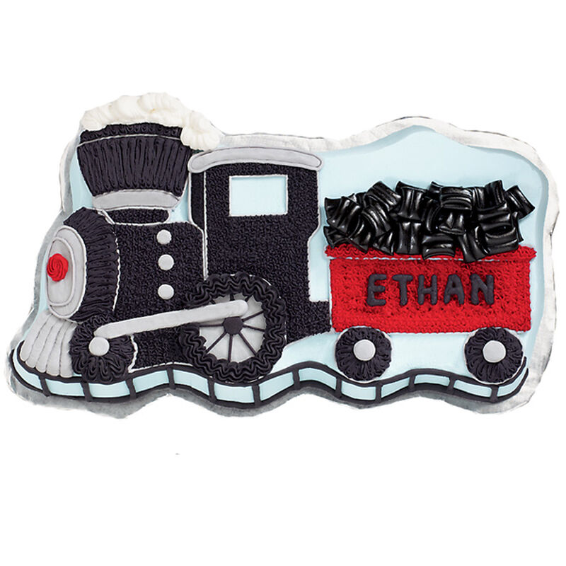 Coal Caboose Cake image number 0
