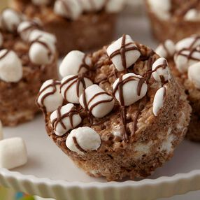 Salted Caramel Hot Cocoa Cereal Treats